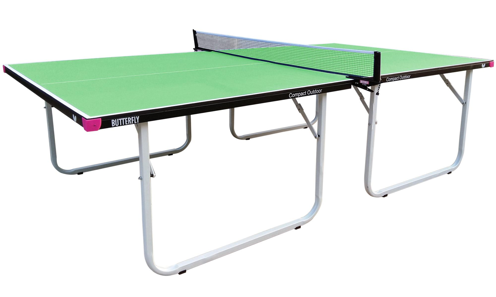 Butterfly compact outdoor table tennis tables - Full size table tennis table dimensions ...