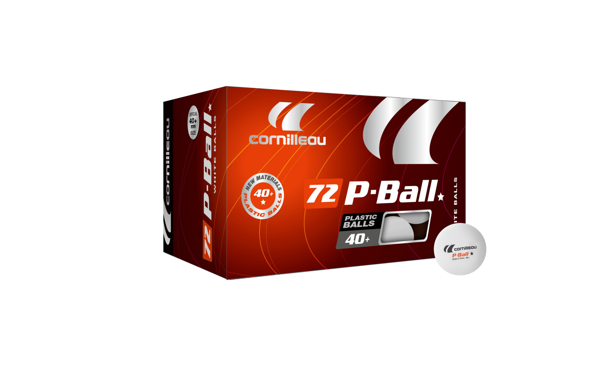 72 x cornilleau p ball 1 star table tennis balls table for 1 star table tennis balls