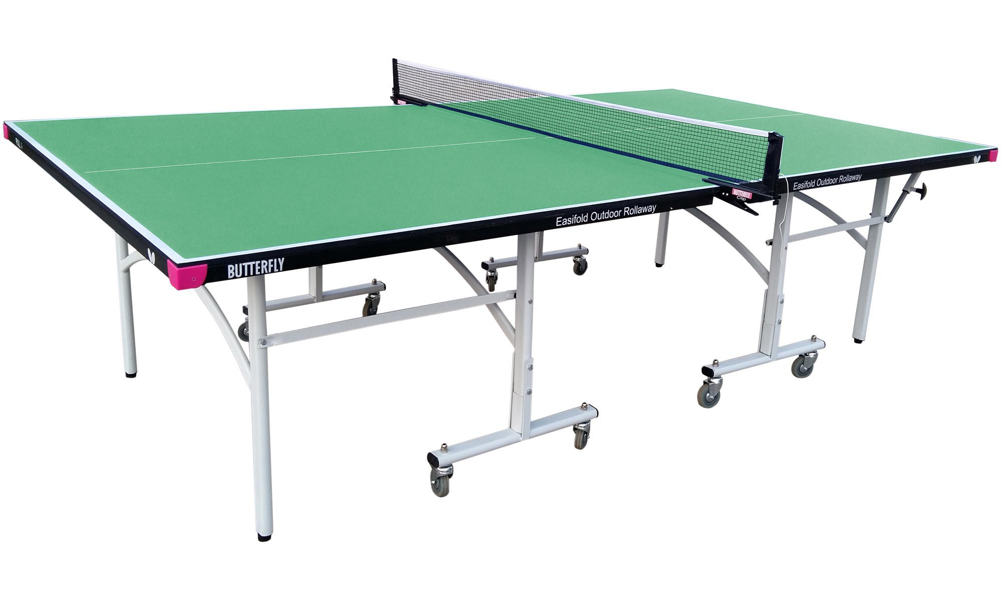 Butterfly easifold 12 outdoor table tennis table - Weatherproof table tennis table ...