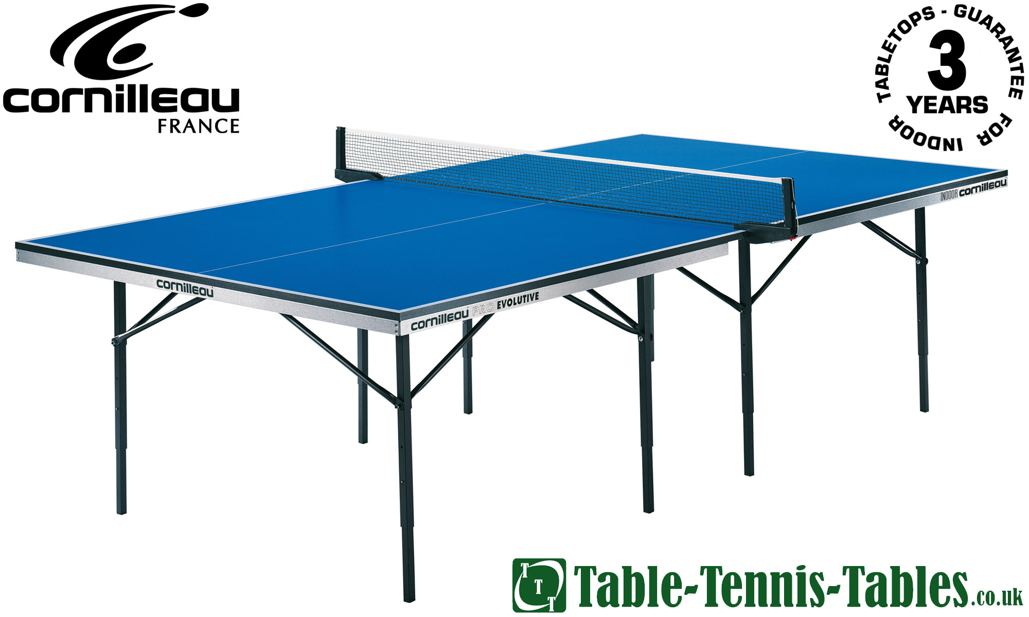 Cornilleau evolutive static 3 in 1 table discontinued - Full size table tennis table dimensions ...