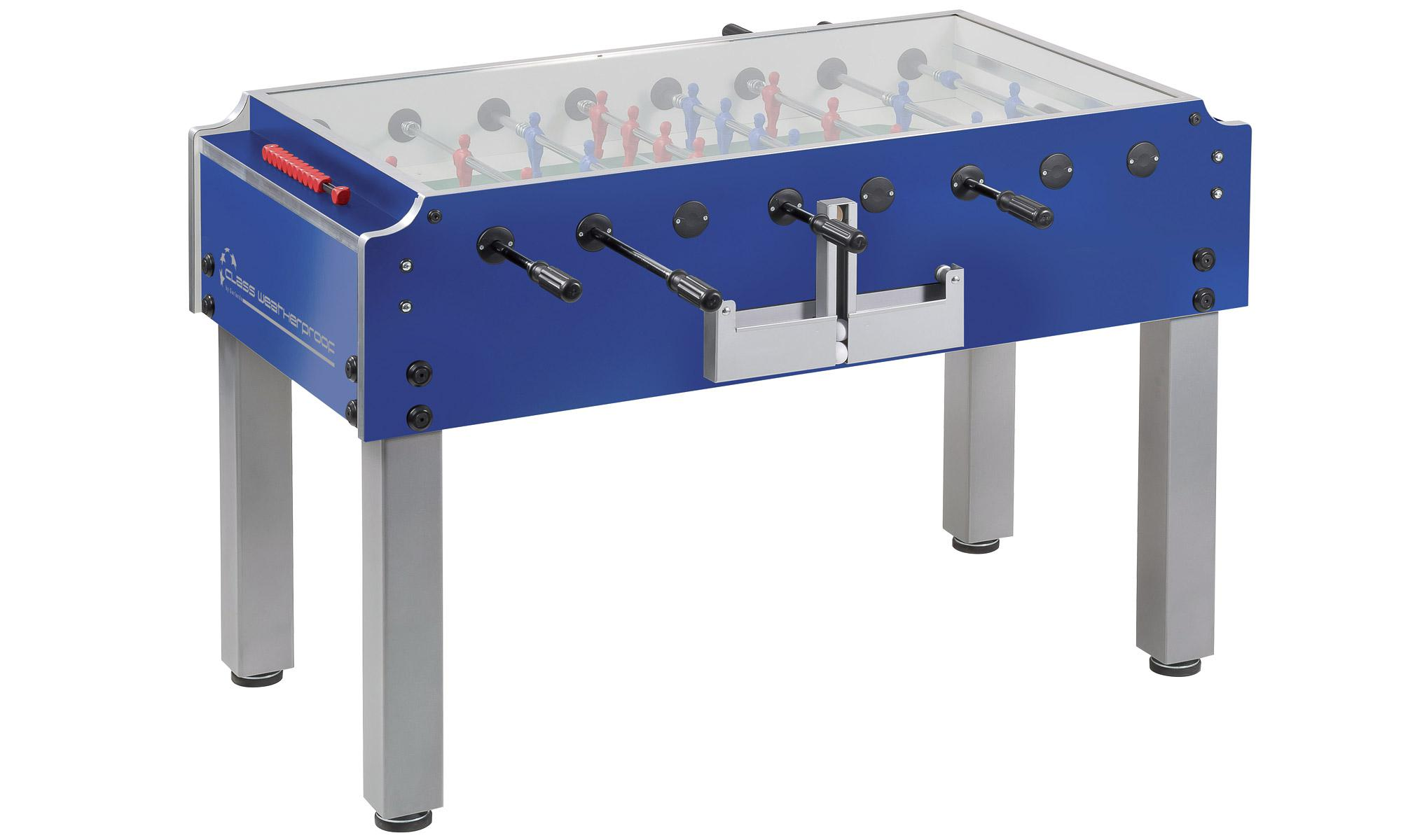 Garlando class weatherproof football table table tennis for Html table class