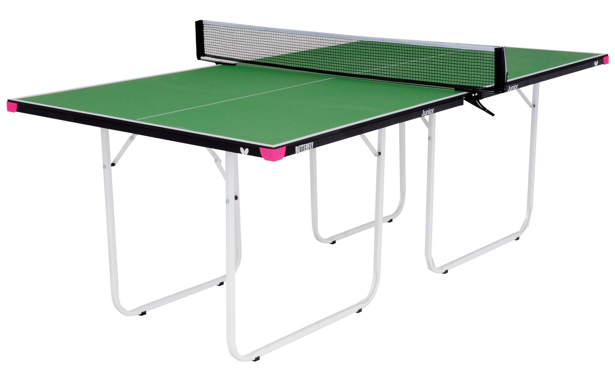 Butterfly junior 3 4 sized indoor table tennis table - Dimensions of a table tennis board ...