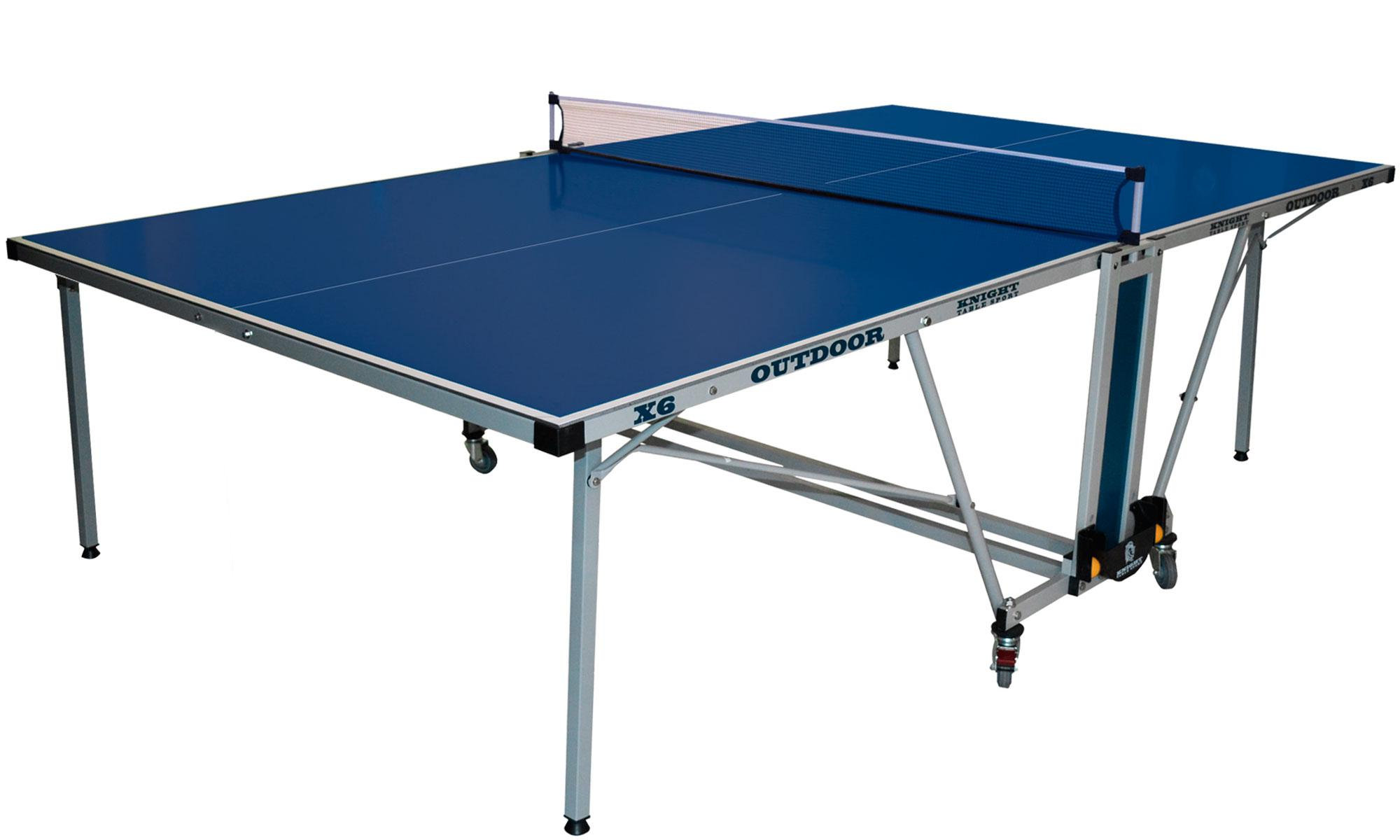 Gallant knight x 6 outdoor table tennis table table tennis - Weatherproof table tennis table ...
