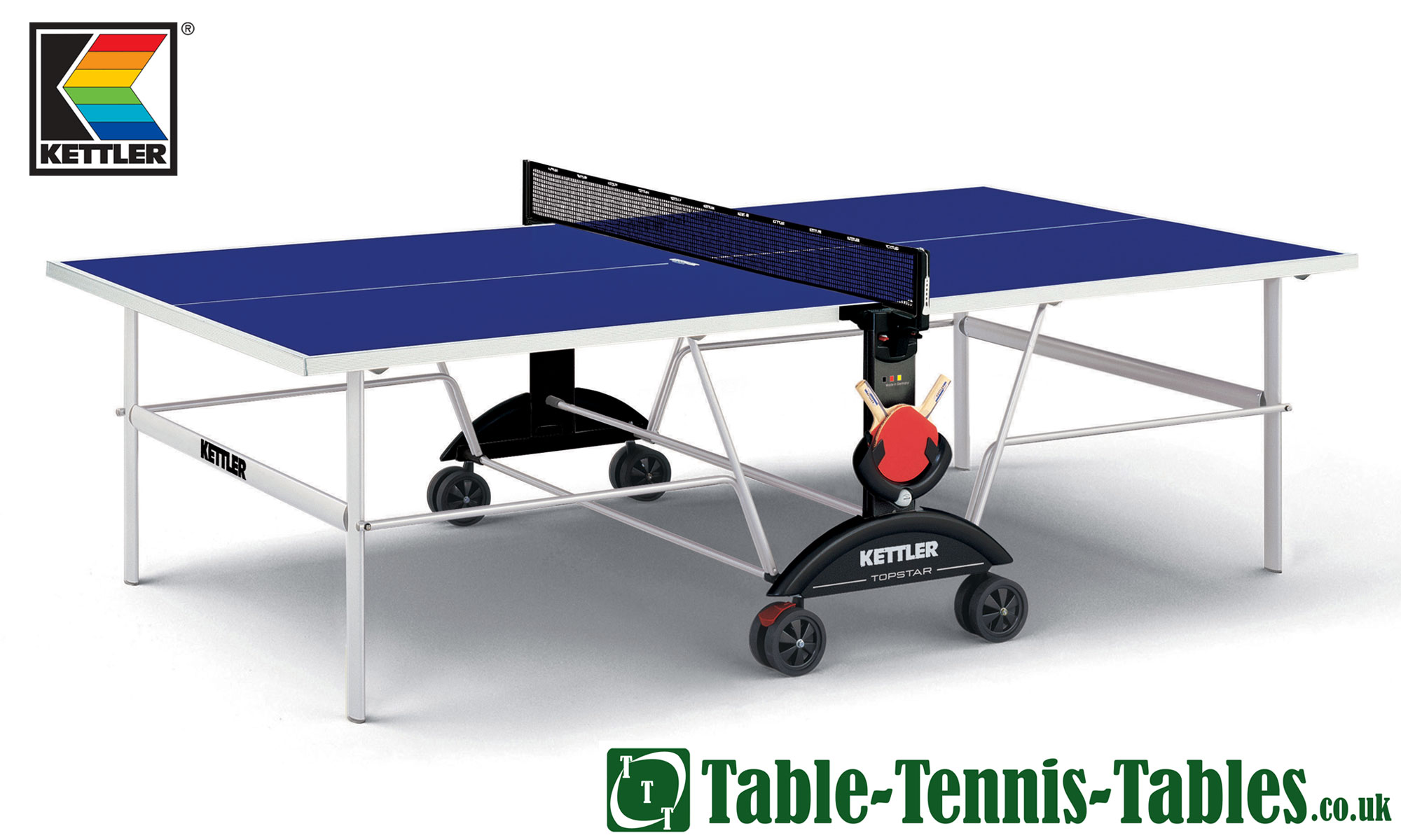 Kettler topstar outdoor table tennis table discontinued for Table kettler