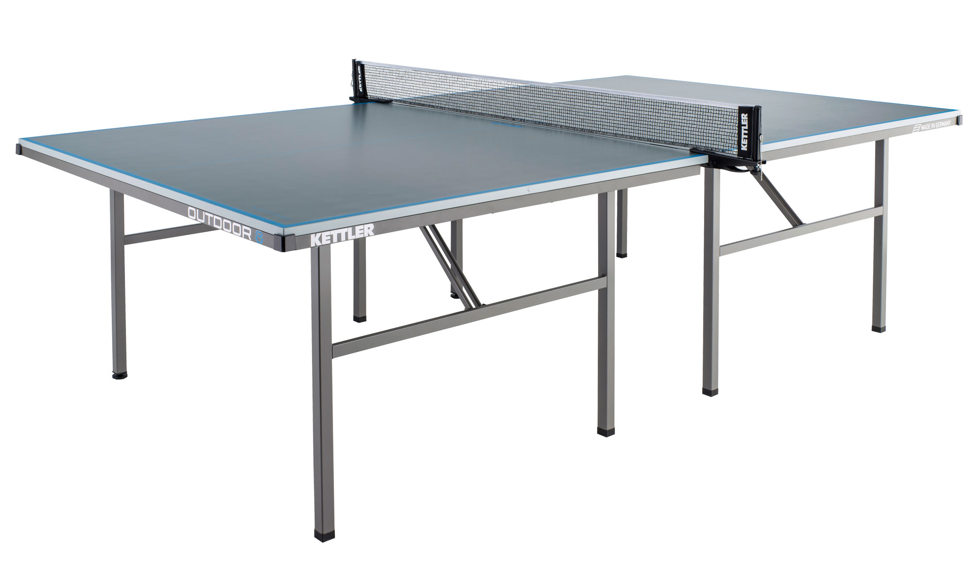 Kettler classic outdoor 8 table tennis table for Table kettler