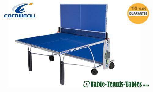 Blue cornilleau sport 150 outdoor table tennis table ebay - Cornilleau outdoor table tennis cover ...
