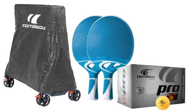 Cornilleau outdoor pack cover fits cornilleau table only - Cornilleau outdoor table tennis cover ...