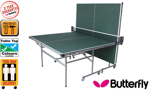 Green butterfly fitness outdoor table tennis tables - Butterfly table tennis official website ...