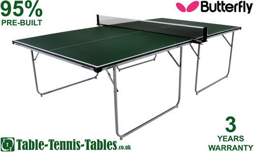 Extremely compact storage - Full size table tennis table dimensions ...