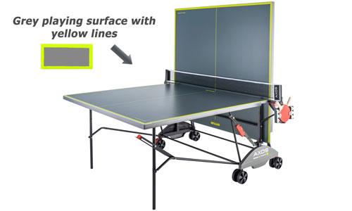 Kettler Axos Outdoor 3 Table Tennis Table Table Tennis