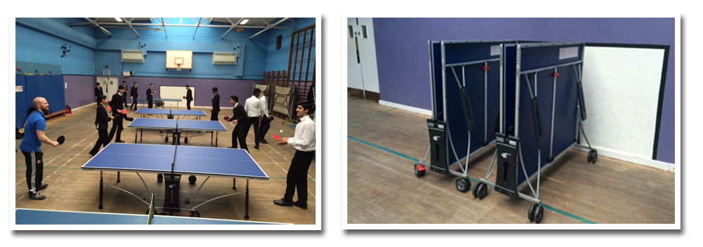 Cornilleau sport 250 indoor tables at Southborough High School