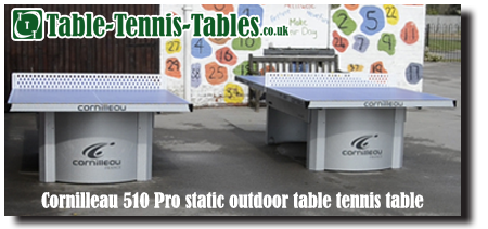 Cornilleau 510 pro static outdoor table