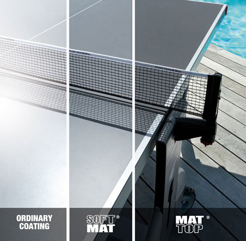 Different Table Tennis Playing Surfaces