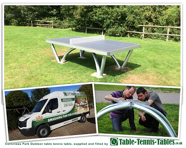 Cornilleau Park outdoor table in West Hanningfield