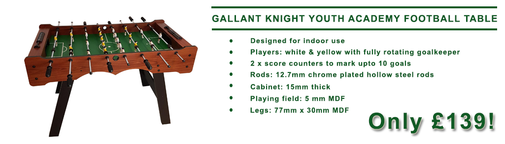 Gallant Knight Youth Academy Football Table