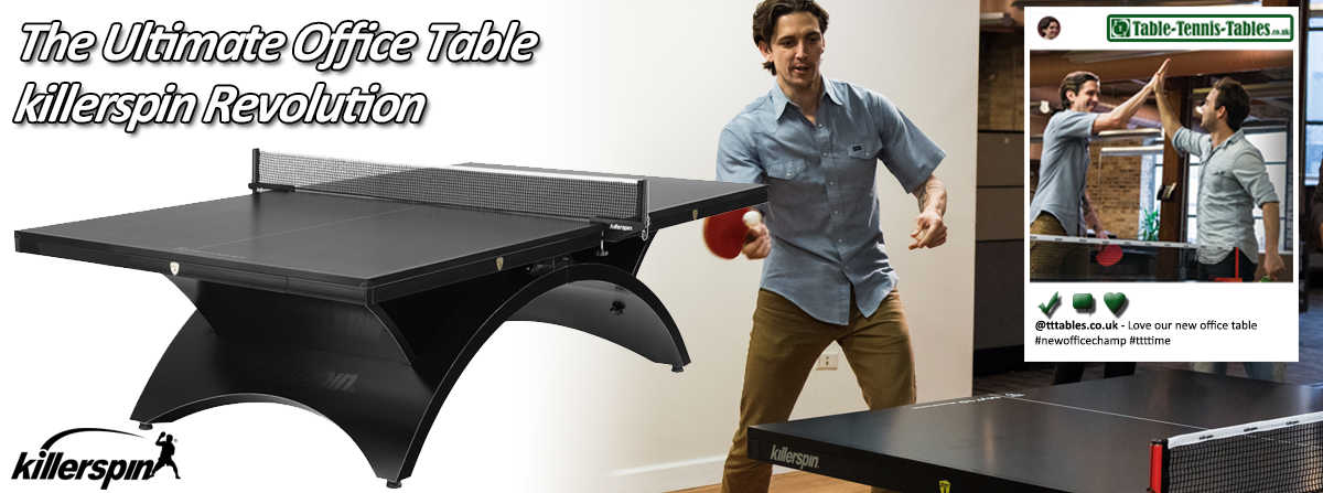 Killerspin Revolution indoor table, perfect for the office