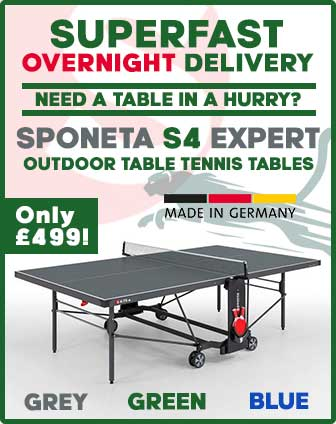 Sponeta Expert S4 Outdoor Table Tennis Table