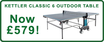 Kettler Classic Outdoor 6 Table - Offer
