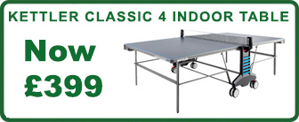 Kettler Classic Indoor 4 Table - Offer
