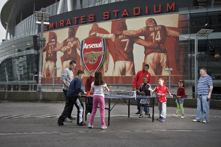 arsenal table tennis