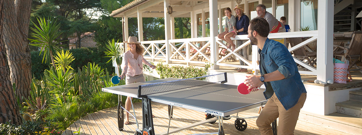 Table Tennis Family Fun