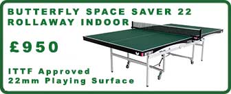 Butterfly Space Saver 22 Rollaway Indoor