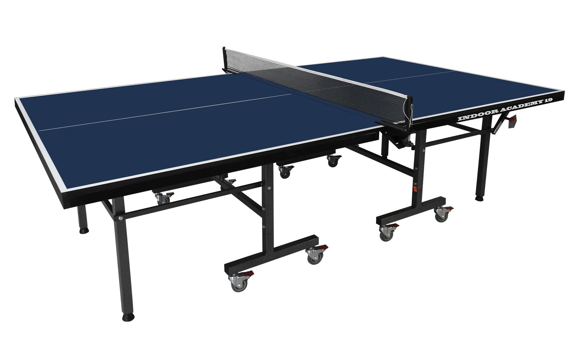 Gallant knight academy 19 indoor table tennis table for Table tennis