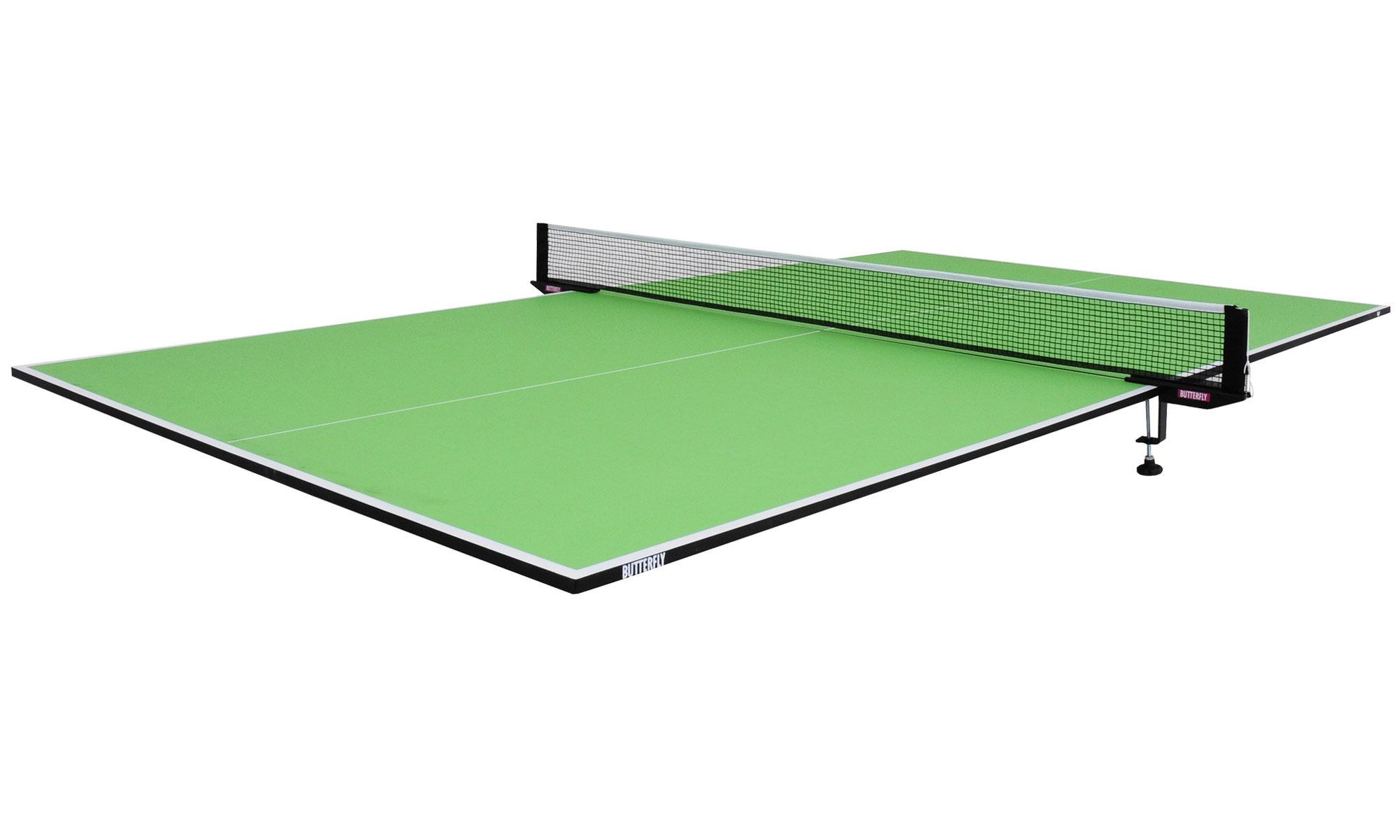 Ping pong table top - Butterfly 9 X 5 Table Tennis Top Only Full Size