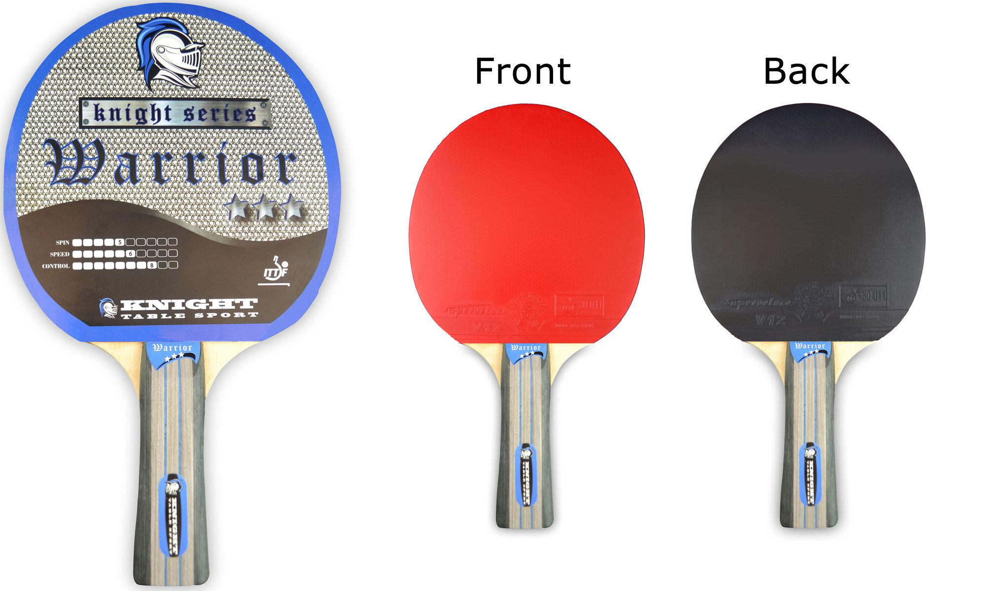 table tennis bats. gallant knight warrior 3 star table tennis bat bats