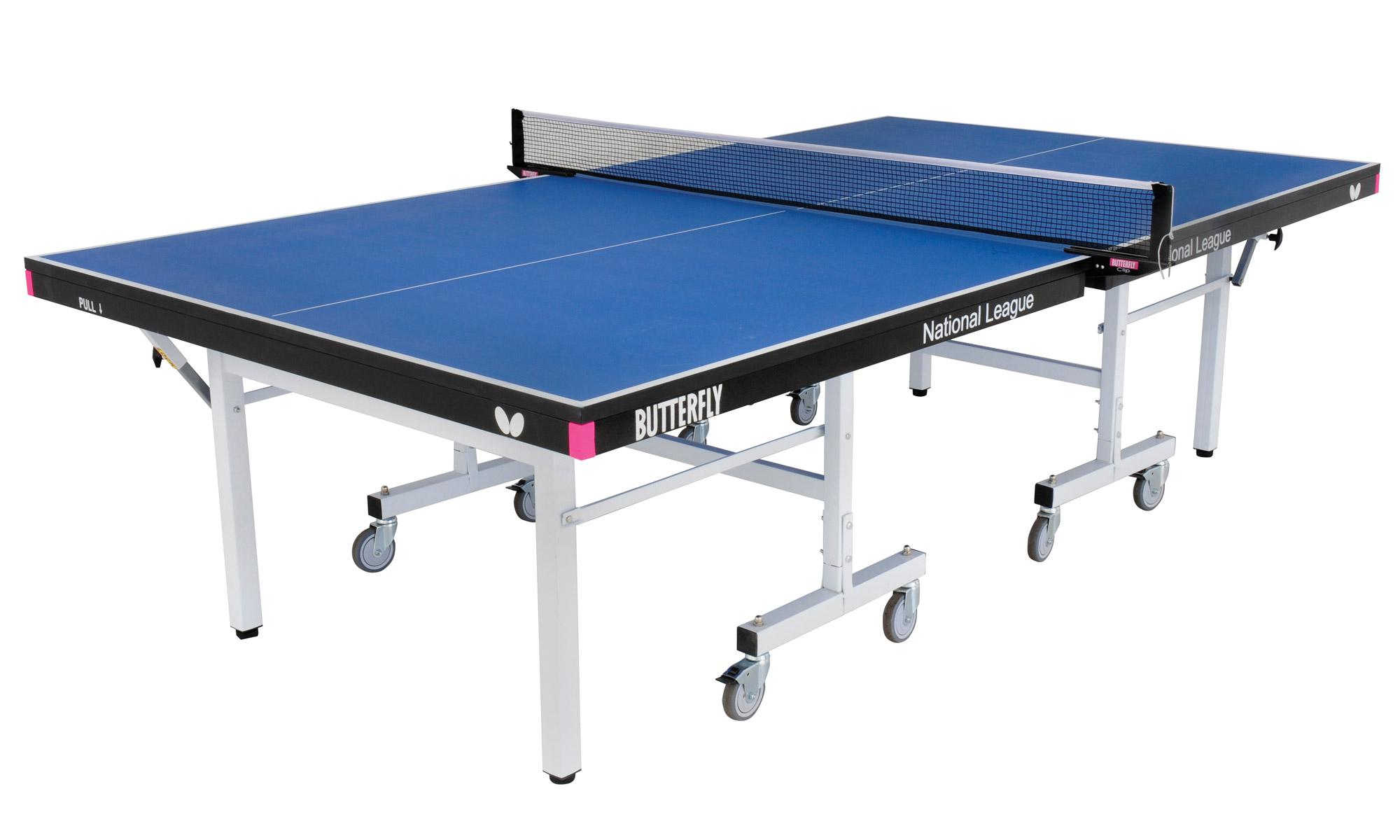 Butterfly National League 25 Indoor Table Tennis Table