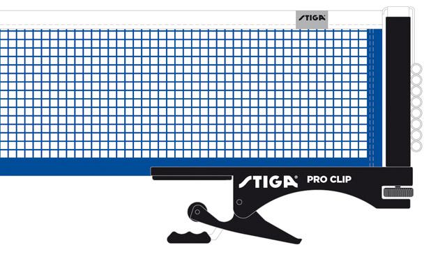 Stiga Pro Clip Net/Post Set