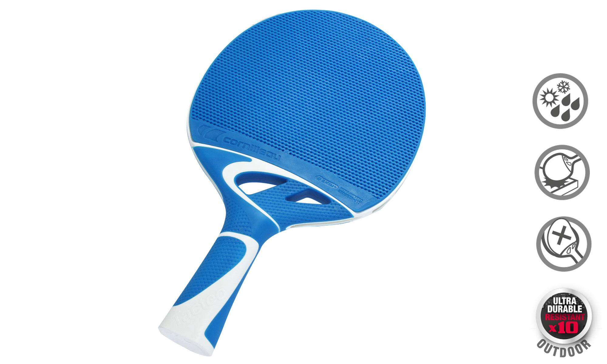 Cornilleau Tacteo 30 Turquoise Outdoor Table Tennis Bat