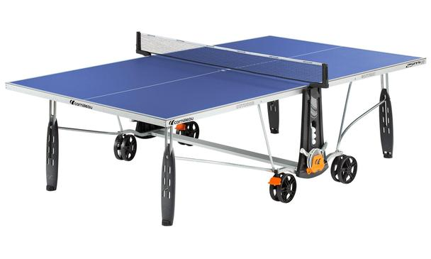 Blue Cornilleau Sport 250S Crossover Outdoor Table Tennis Table