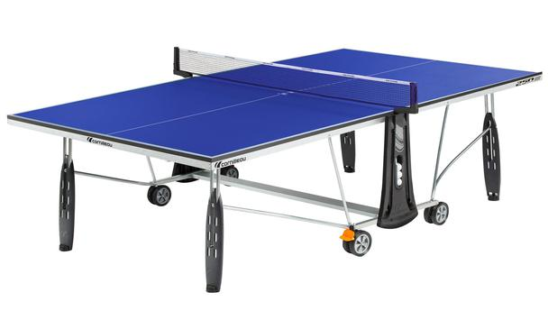 Cornilleau Sport 250 Indoor Table Tennis Table in Play Position