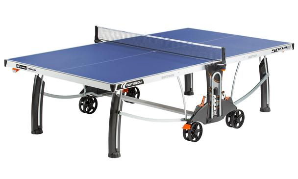 Blue Cornilleau Performance 500M Crossover Outdoor Table Tennis Table