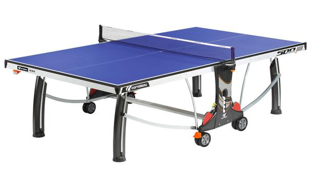 Cornilleau Sport 500 Indoor Table Tennis Table in Play Position