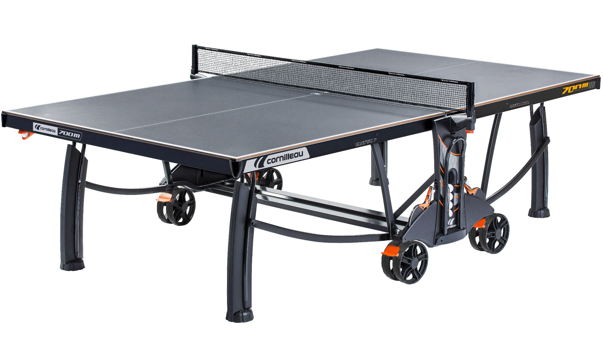 Cornilleau Performance 700M Crossover Grey Outdoor Table Tennis Table