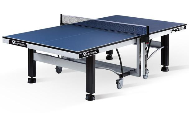 Blue Cornilleau Competition 740 ITTF Indoor Table Tennis Table