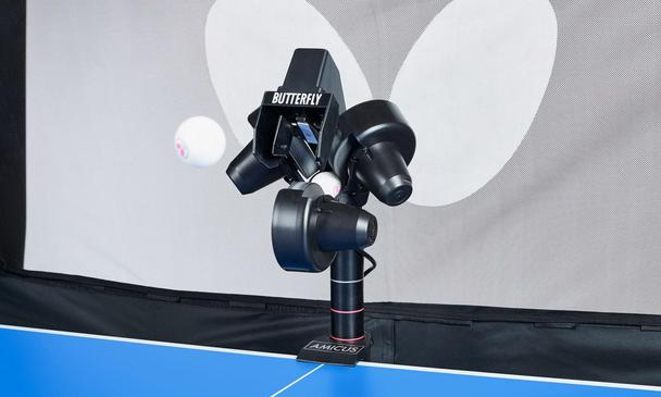 Black Butterfly Amicus Professional Table Tennis Robot