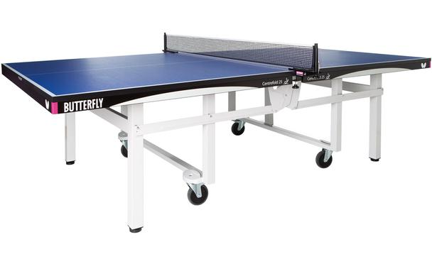 Blue Butterfly Centrefold 25 Rollaway Indoor Table Tennis Table