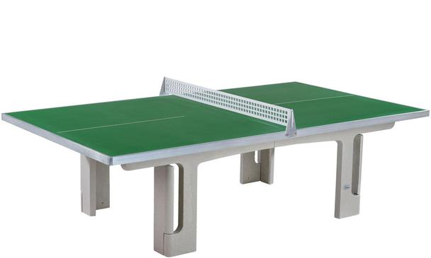 Butterfly Park Green Polymer Concrete Table Tennis Table