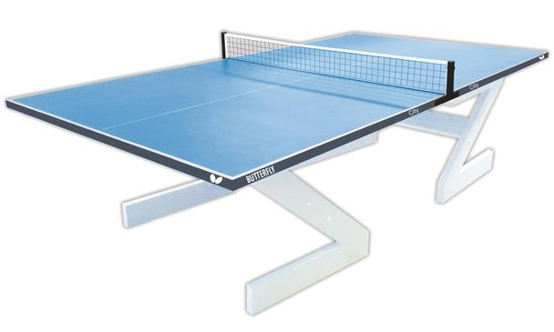 Butterfly City Concrete Table Tennis Table