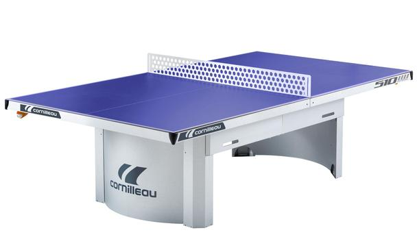 Blue Cornilleau 510 Proline Outdoor Static Table Tennis Table