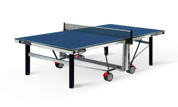 Blue Cornilleau Competition 540 ITTF Indoor Table Tennis Table