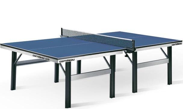 Blue Cornilleau Competition 610 ITTF Indoor Table Tennis Table