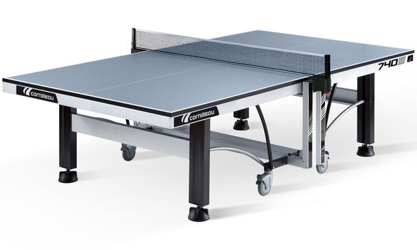 Grey Cornilleau Competition 740 ITTF Indoor Table Tennis Table