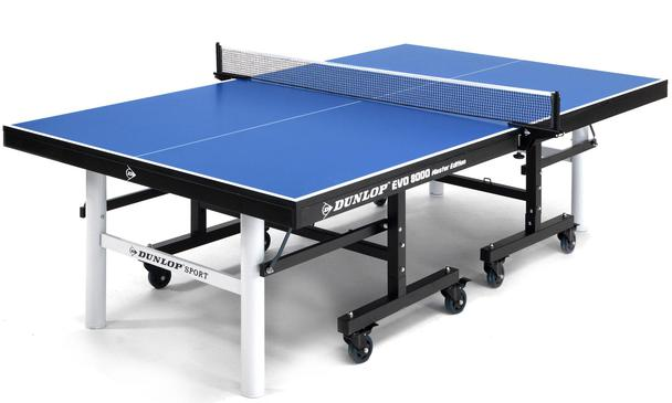 Dunlop EVO 8000 BLUE Indoor Table Tennis Table