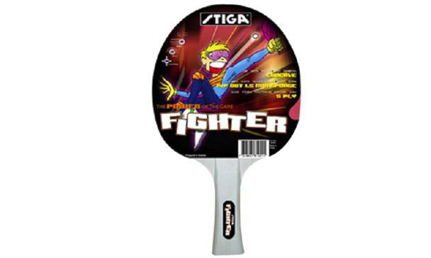 Stiga Fighter (Pimpled with sponge) Table Tennis Bat