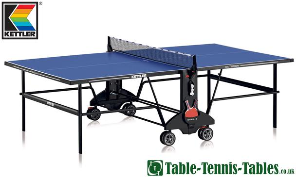 Kettler Smash 5 Outdoor Table Tennis Table: Discontinued