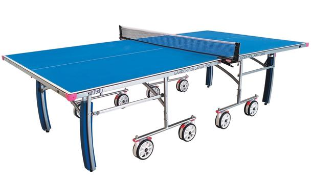 Butterfly Garden Rollaway 5000 Outdoor Table Tennis Table